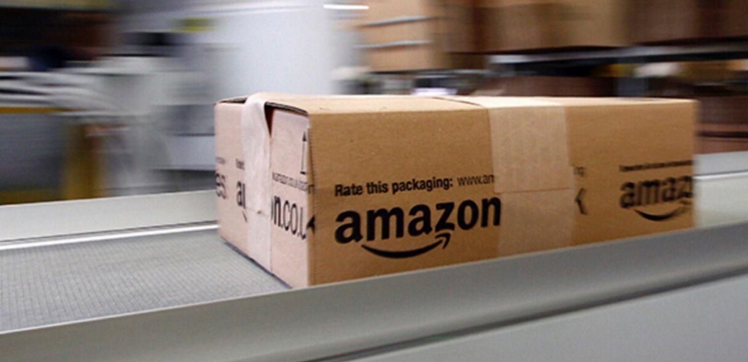 Pacchi Amazon trasporto