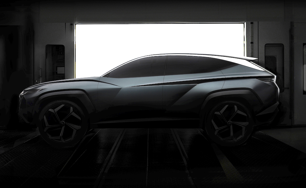 Suv Concept Hyundai Tucson 2020
