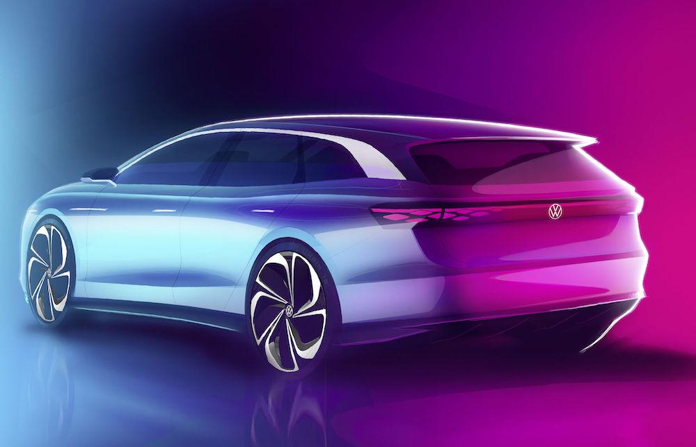 Uscita di Volkswagen ID. Space Vizzion