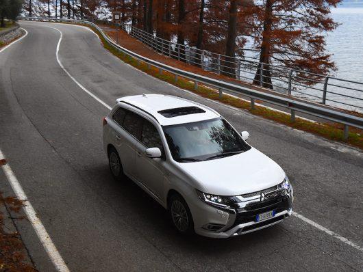 Sicurezza su Mitsubishi Outlander PHEV