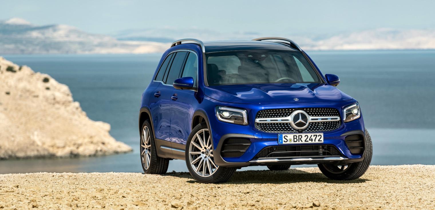 Esterni nuovo Mercedes GLB