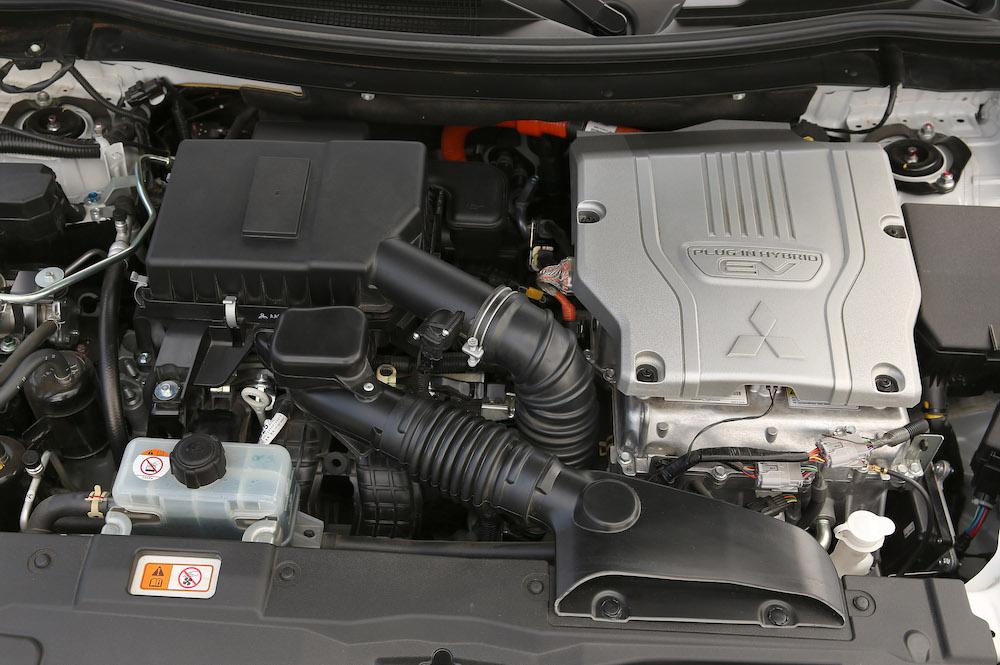 Motore ibrido plug-in Outlander