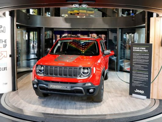 Nuov Jeep Renegade 2020 ibrida plug-in