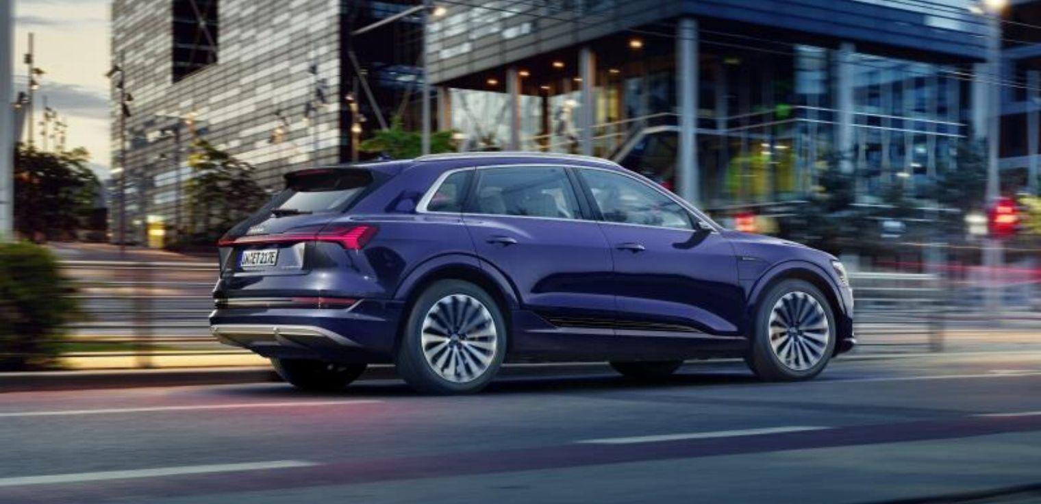 Nuova Audi e-tron 2020