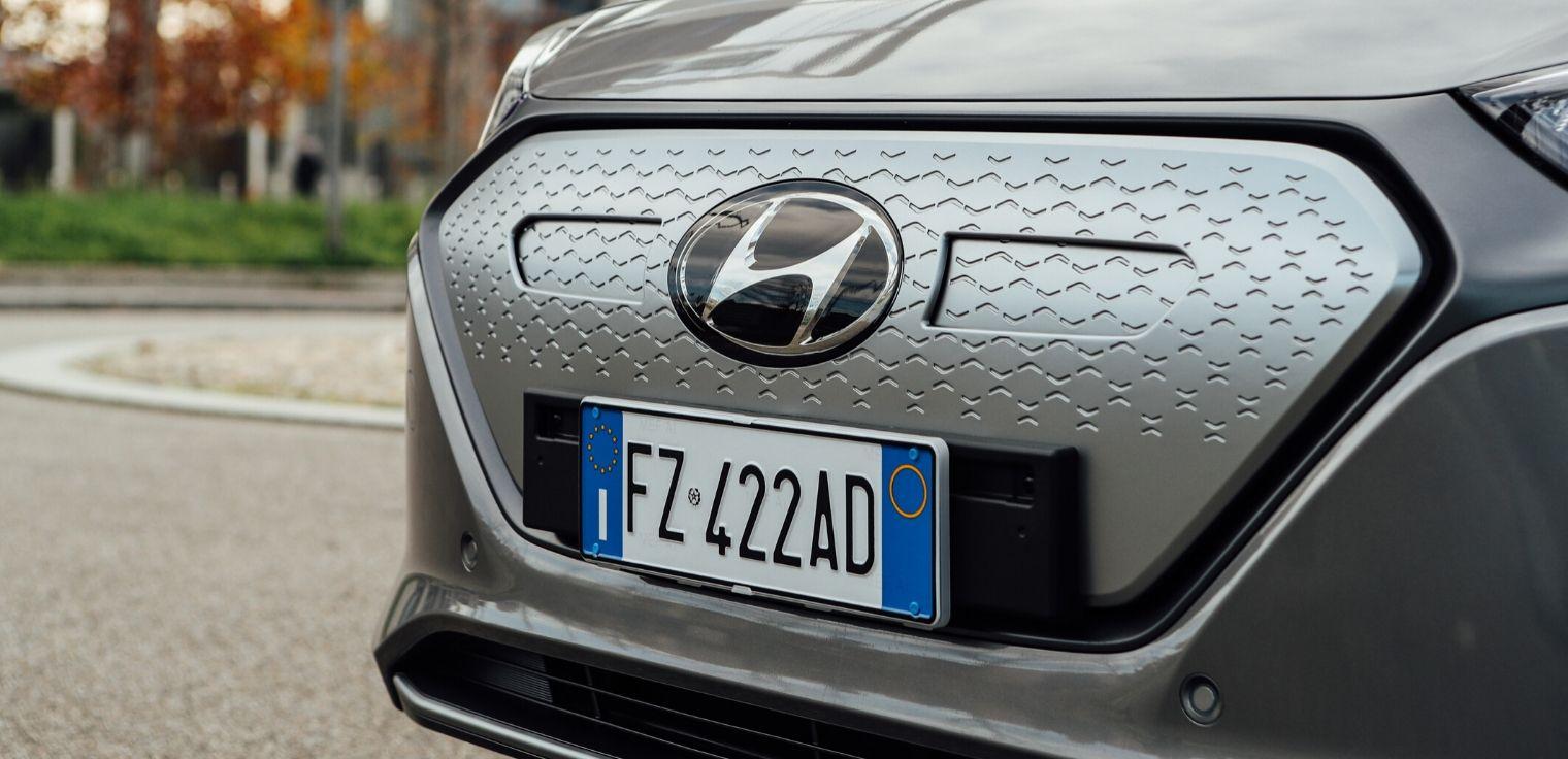 Nuova Hyundai Ioniq Electric 2020 frontale
