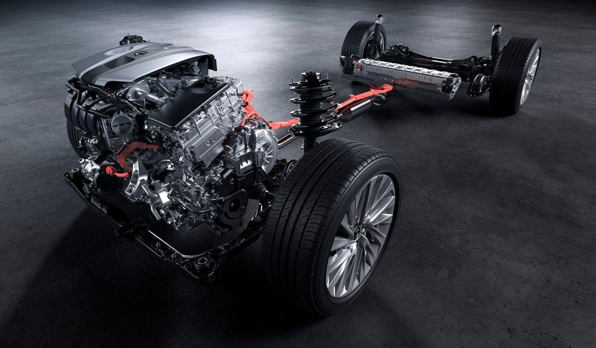 Nuova Lexus ES 2020 motore ibrido