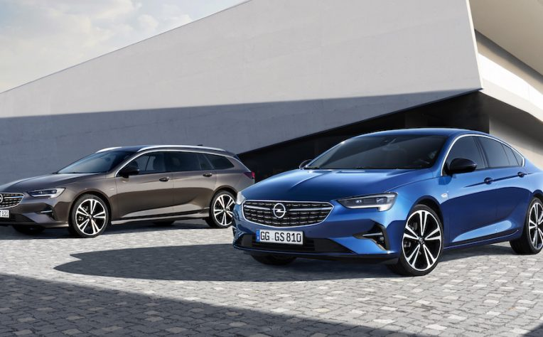 Opel Insignia restyling 2020
