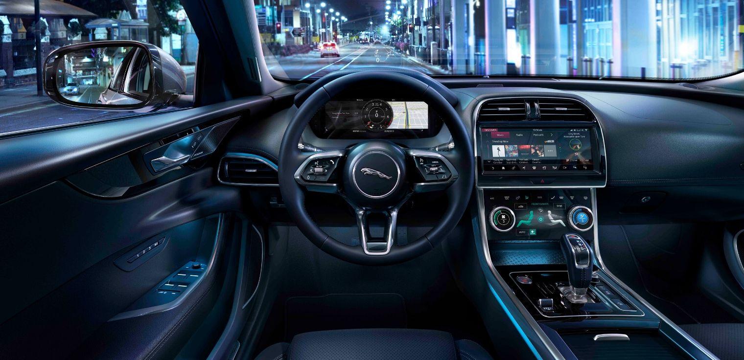 Sistema infotainment Jaguar Land Rover