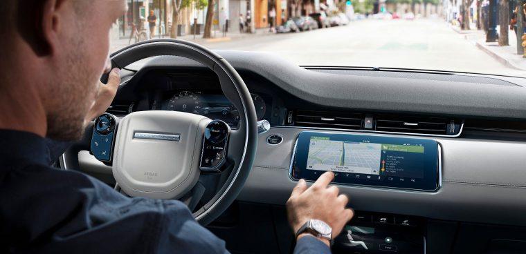 Sistema multimediale Jaguar Land Rover aggiornamento