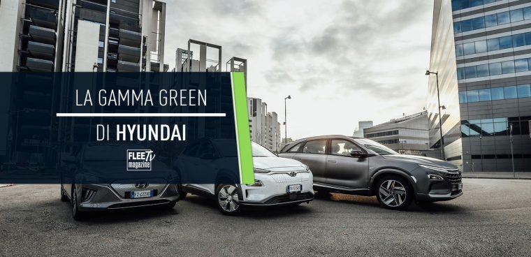 Gamma Hyundai 2020 auto elettriche, ibride e a idrogeno