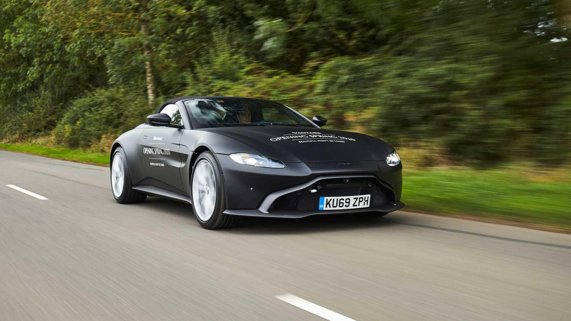 nuova Aston Martin Vantage Roadster