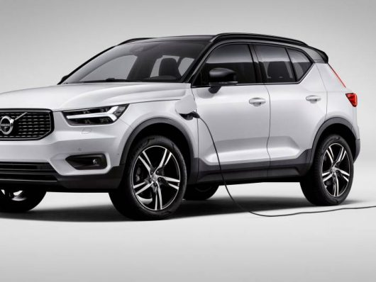 nuova Volvo XC40 ibrida plug-in 2020