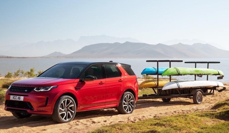 Adas di Land Rover Discovery Sport