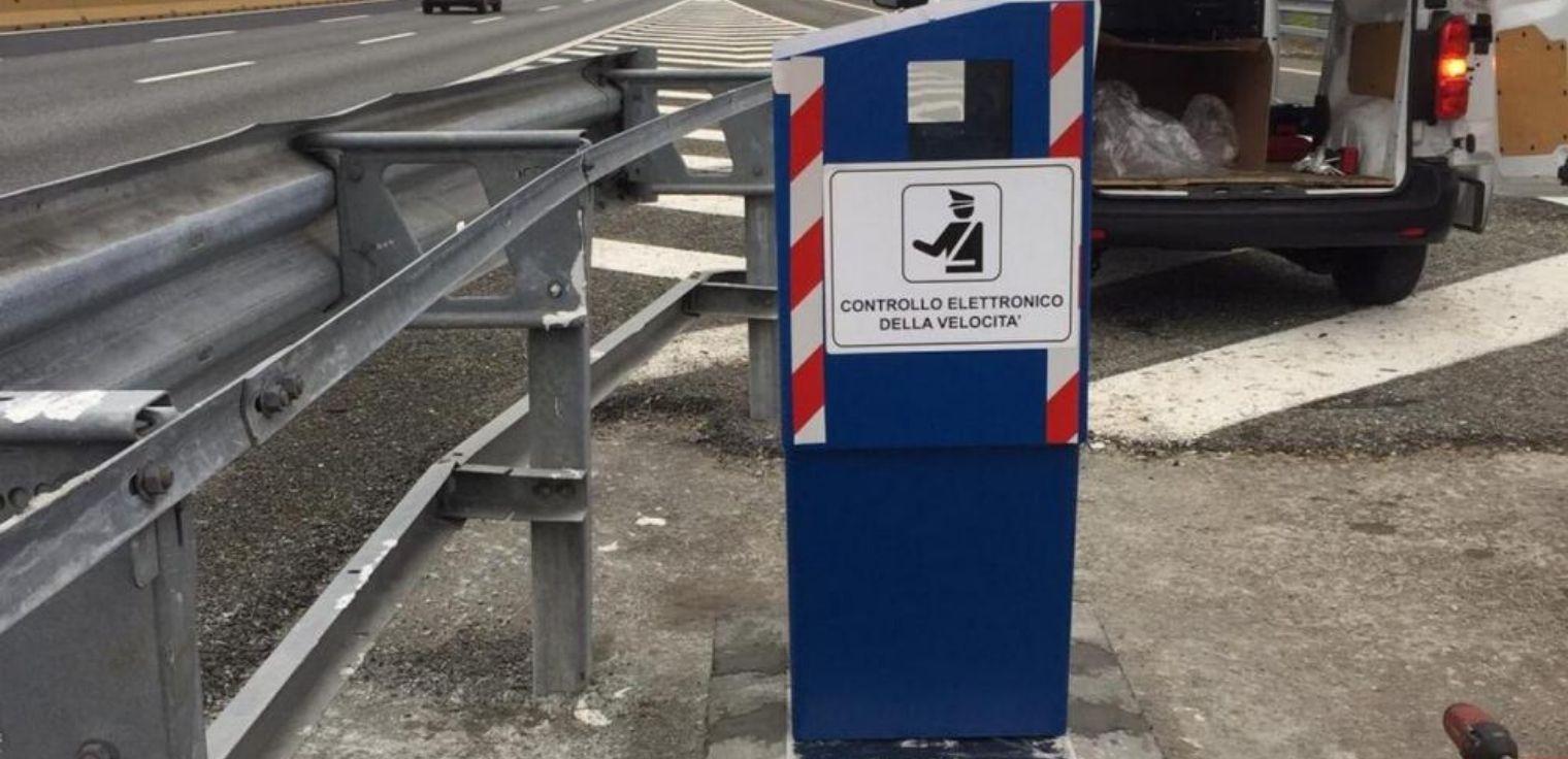 Autovelox fisso autostrada A4 Milano-Torino