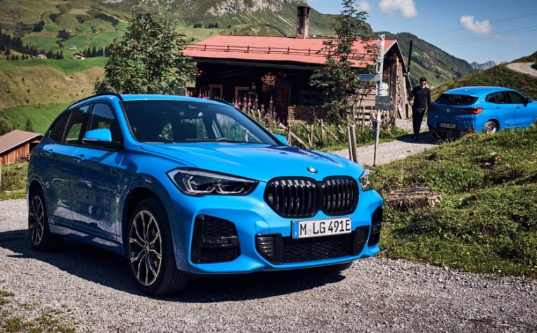 BMW X1 ibrida plug-in