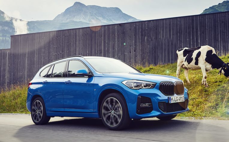 BMW X1 ibrida plug in a noleggio
