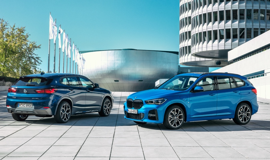 BMW X2 ibrida plug-in