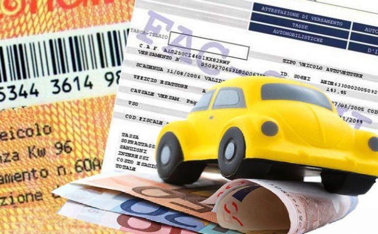 Bollo auto sanzioni pagamento in ritardo