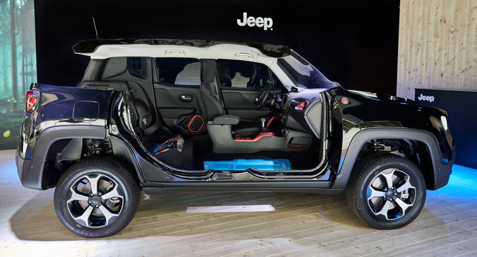 Caratteristiche di Jeep Renegade ibrida plug-in