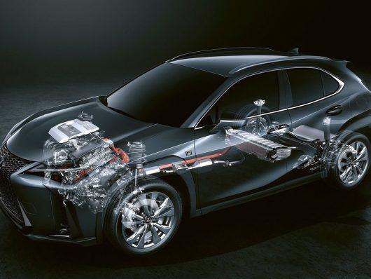 Come funziona il full hybrid Lexus