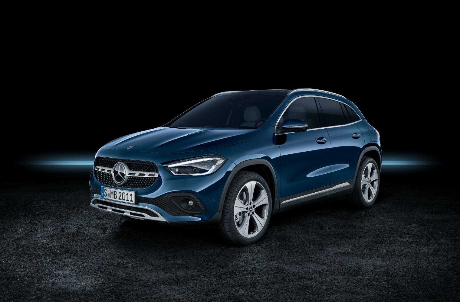 Esterni nuova Mercedes GLA