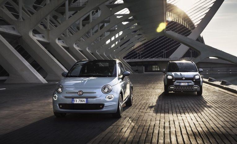 Fiat Panda e Fiat 500 Hybrid 2020 auto ibride