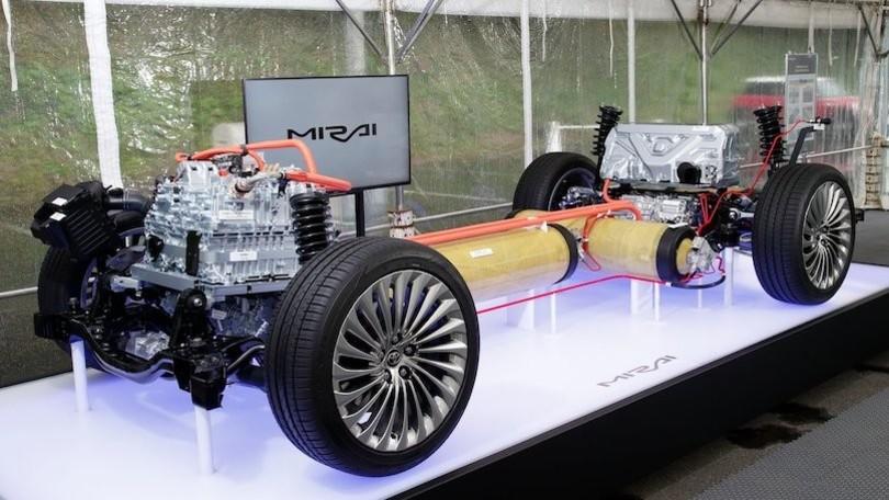 Fuel cell nuova Toyota Mirai 2021