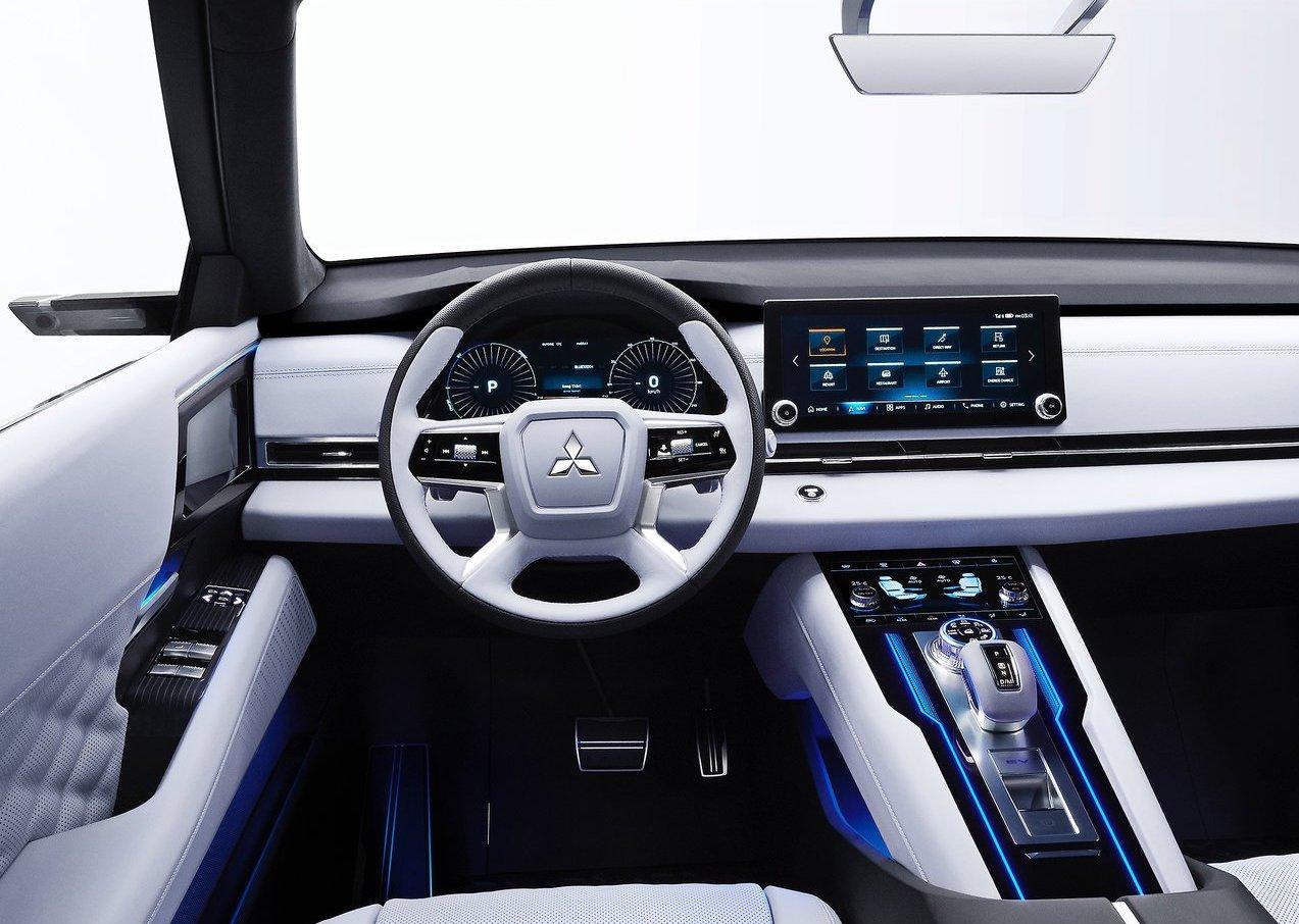 Interni di Mitsubishi Engelberg Tourer Concept