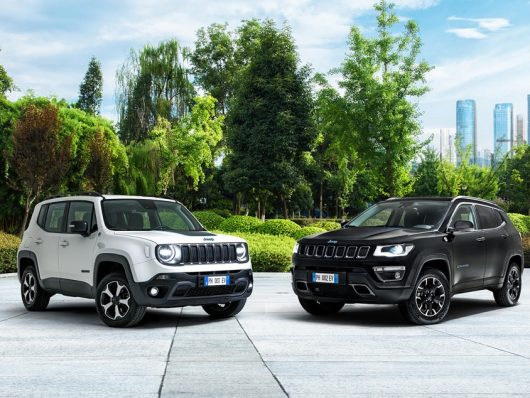 Jeep Renegade e Compass ibrida plug-in