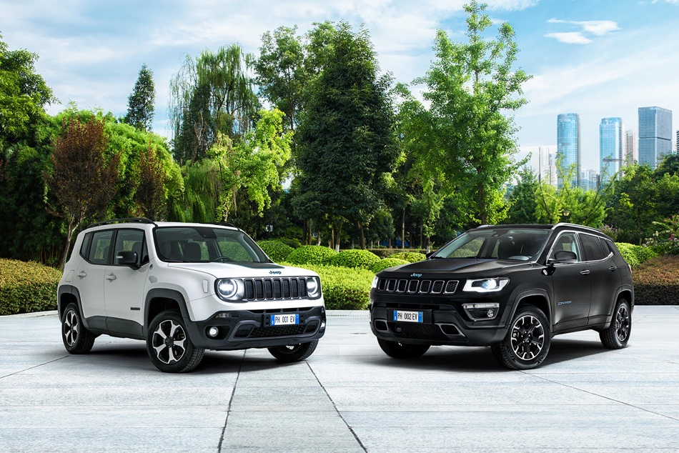 Jeep Renegade e Compass ibrida plug-in