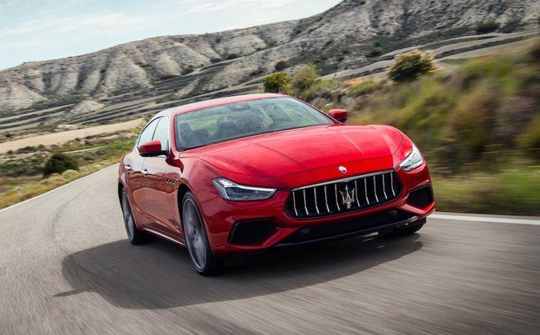Maserati Ghibli ibrida 2020