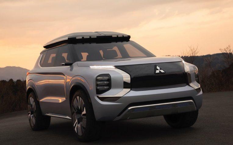 Mitsubishi Engelberg Concept nuovo Outlander