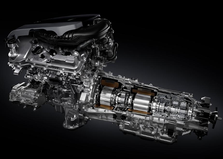 Multistage ibrido Lexus