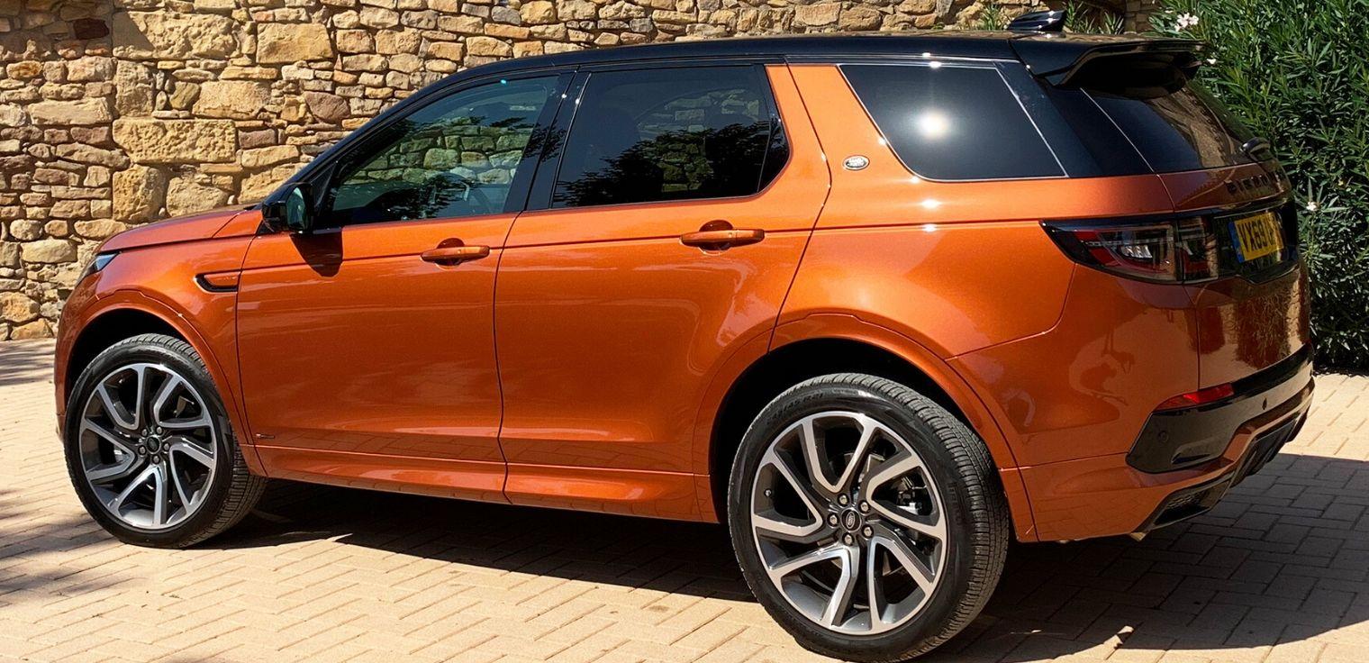 Nuova Land Rover Discovery Sport 2020 esterni