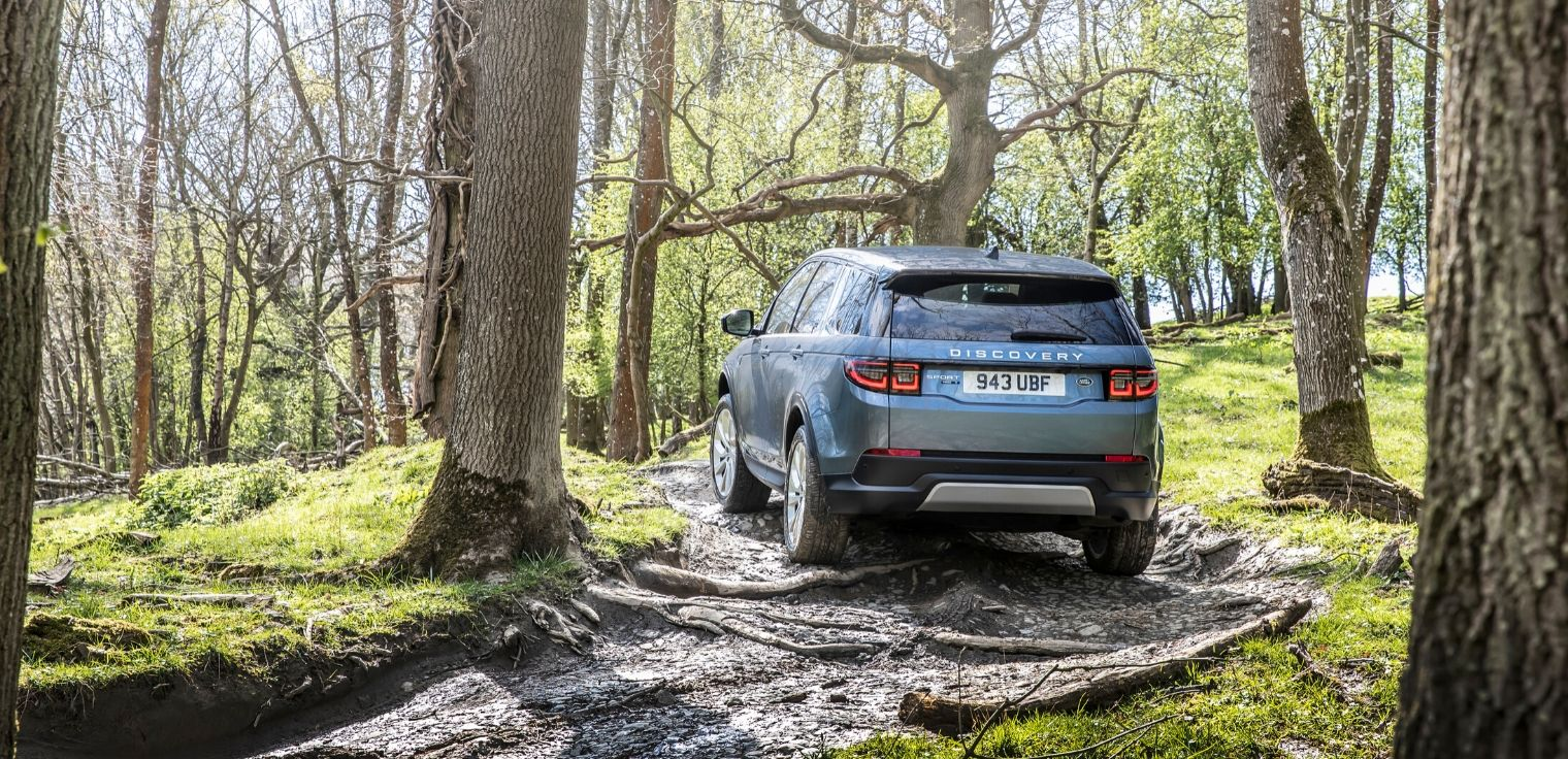Nuova Land Rover Discovery Sport 2020 posteriore