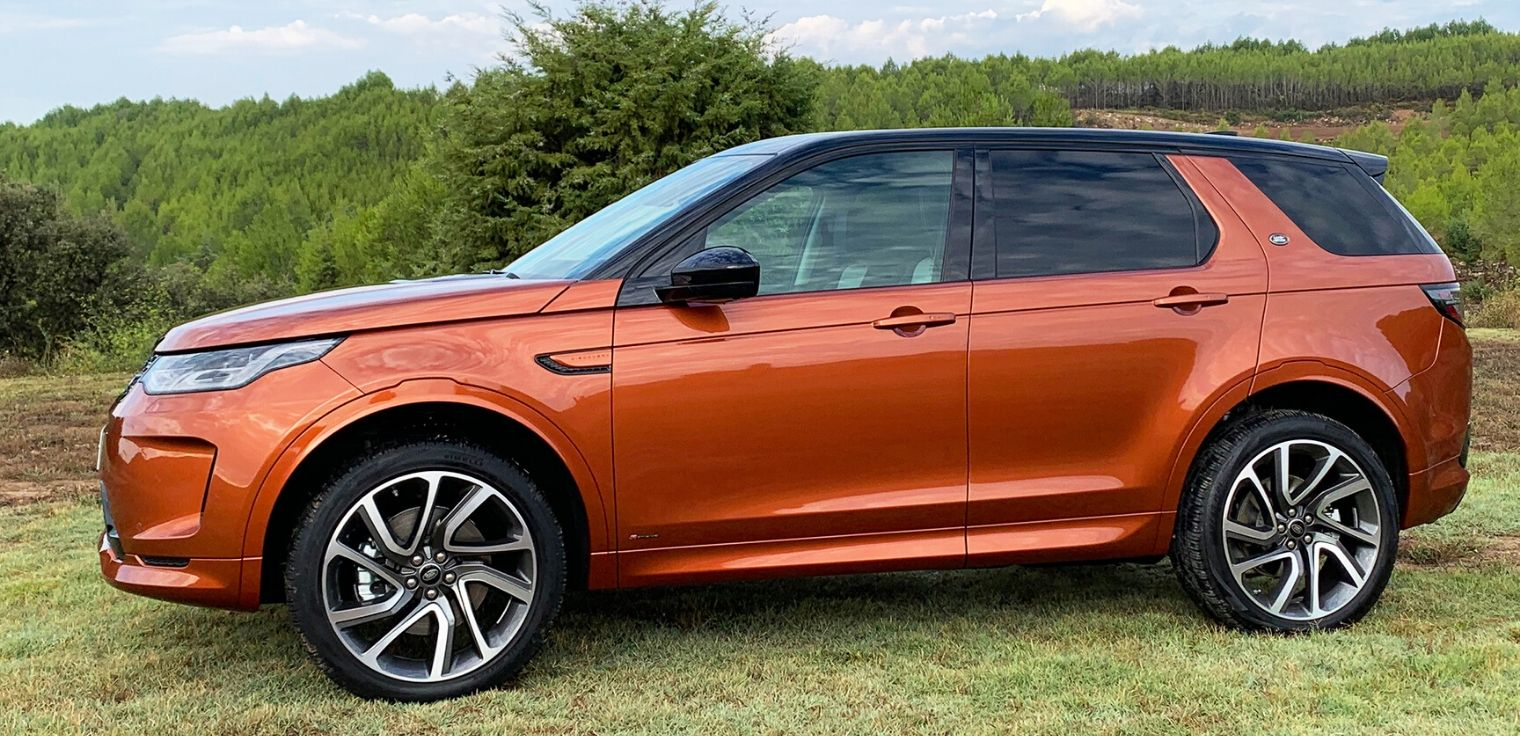 Nuova Land Rover Discovery Sport 2020 motori