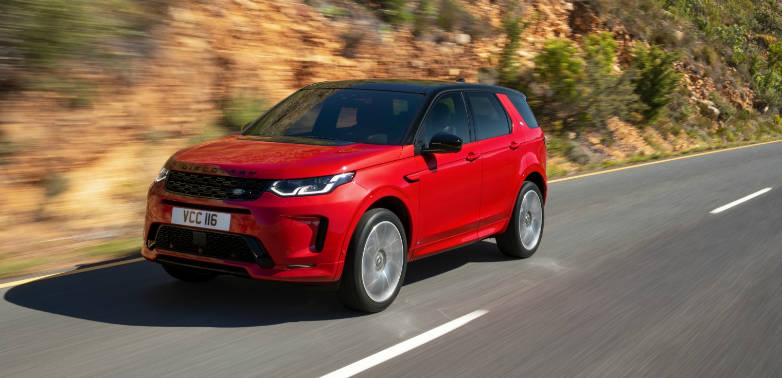 Nuova Land Rover Discovery Sport dinamica