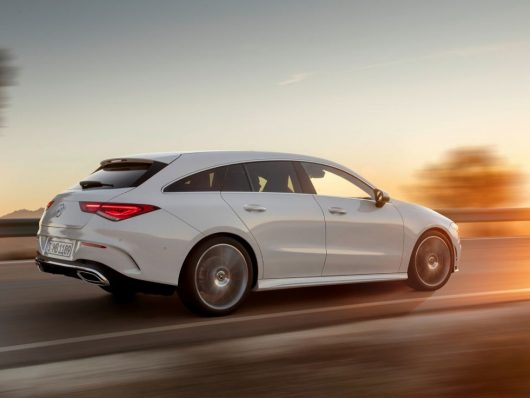 Nuova Mercedes CLA Shooting Brake 2020 test drive