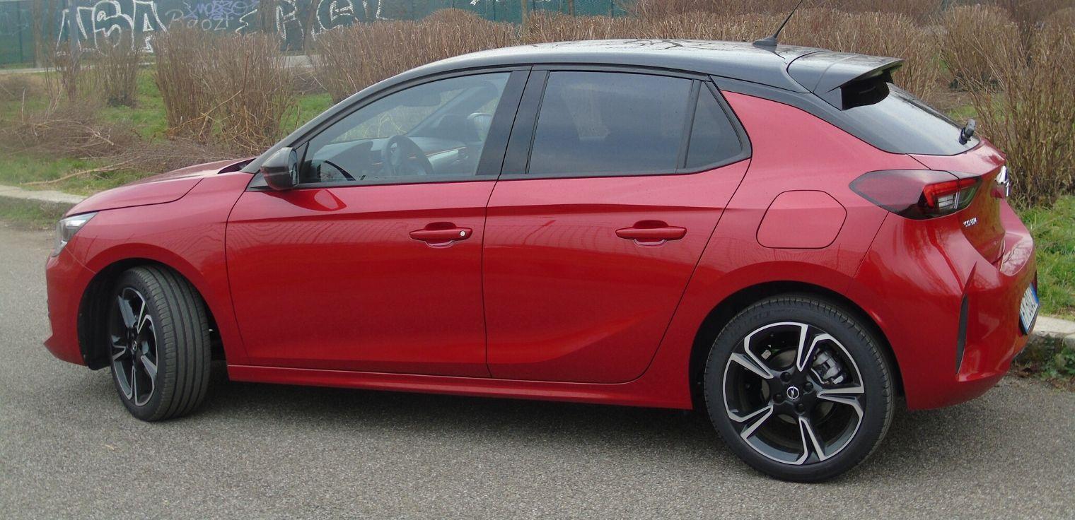 Nuova Opel Corsa 2020 design