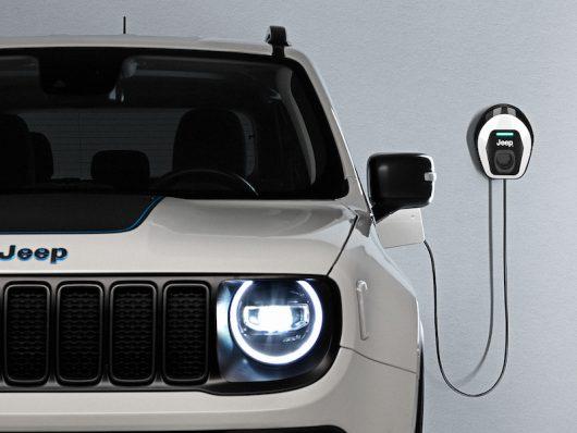 Ricarica Wallbox Jeep Renegade 4xe