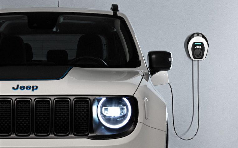 Ricarica Wallbox Jeep Renegade 4xe