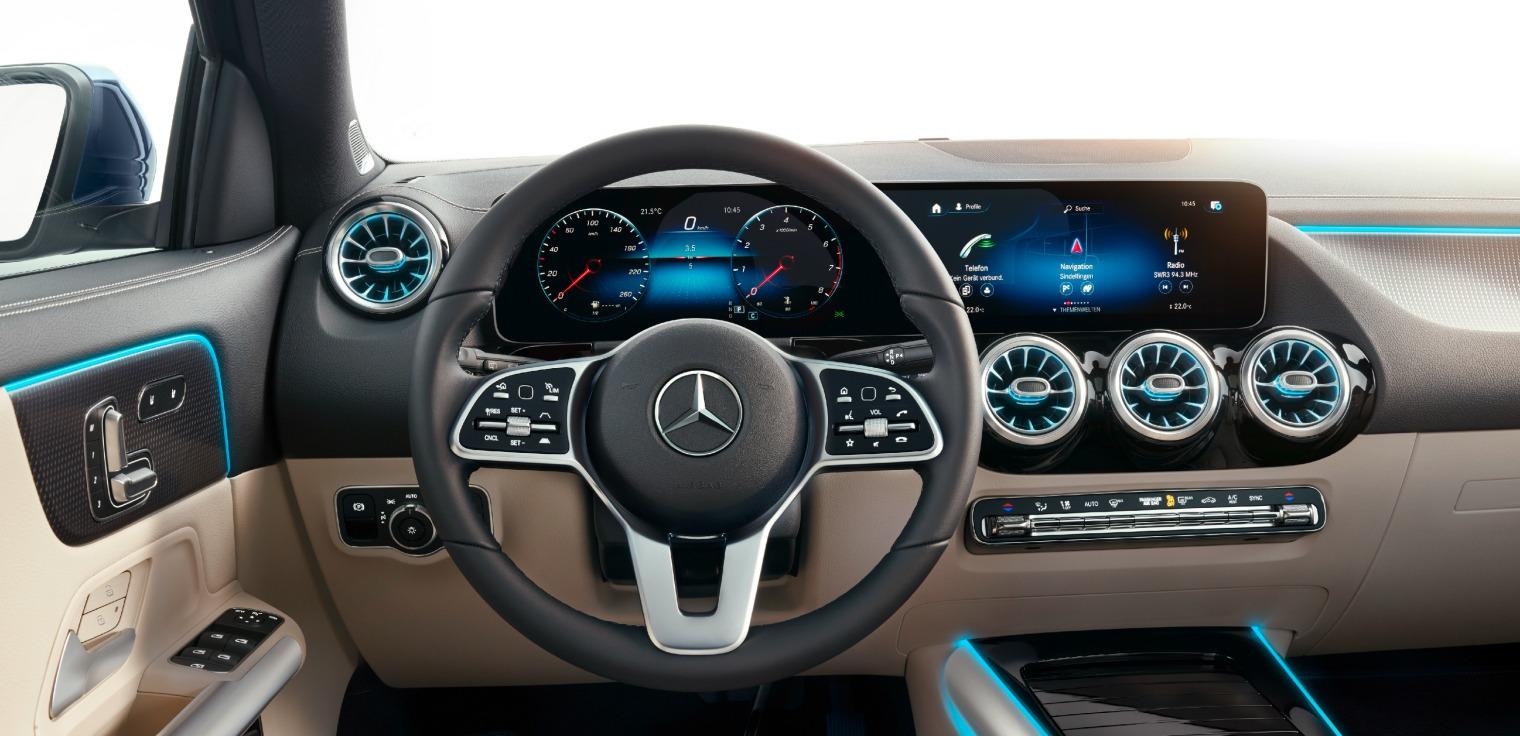 Tecnologia nuova Mercedes GLA