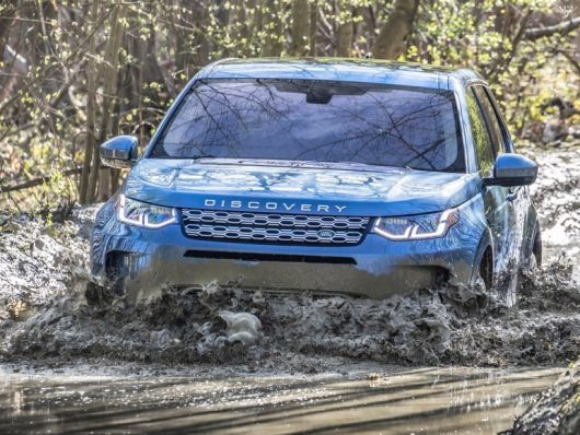 Terrain Response di Land Rover Discovery Sport