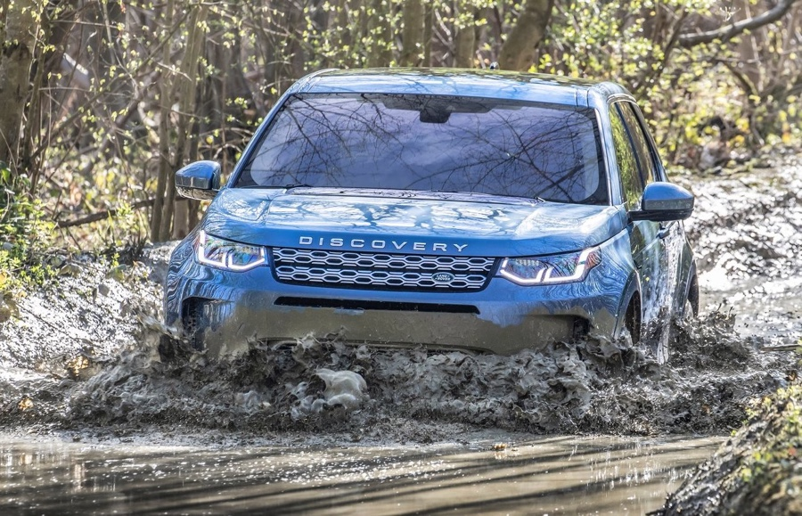 Terrain Response di Land Rover Discovery Sport