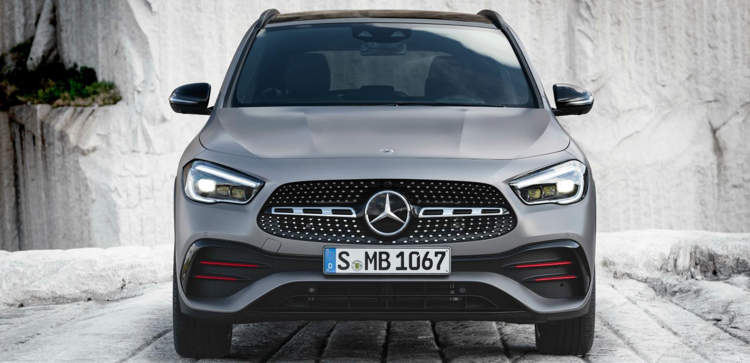 Trazione integrale nuova Mercedes GLA