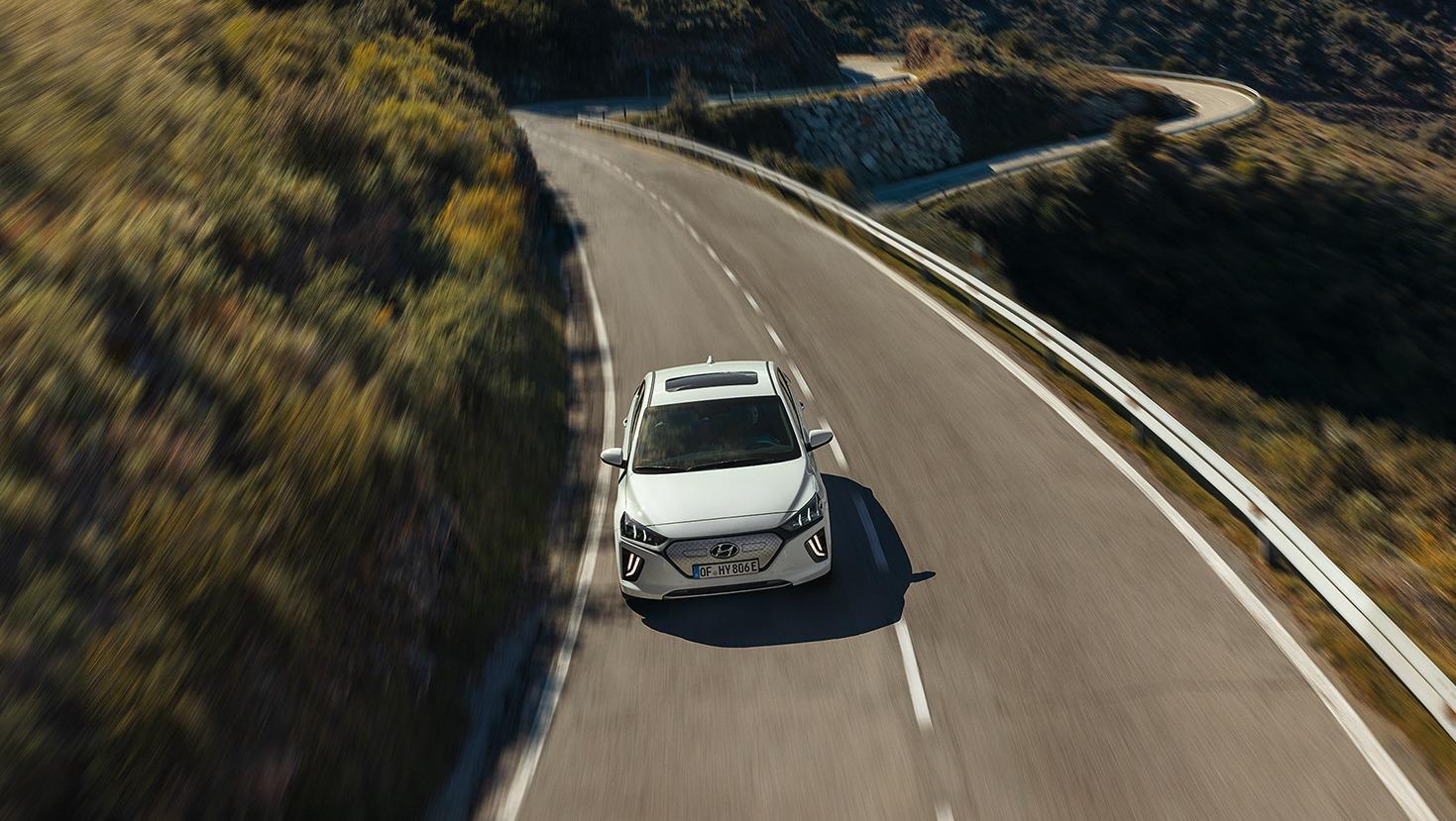 Autonomia nuova Hyundai Ioniq Electric
