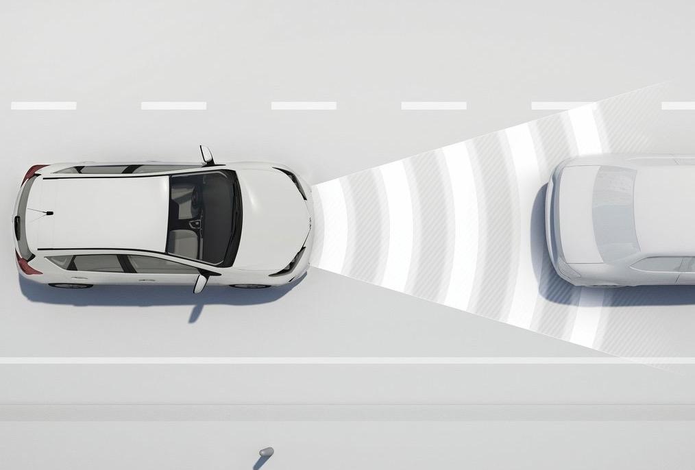 Cruise control adattivo Adas Toyota