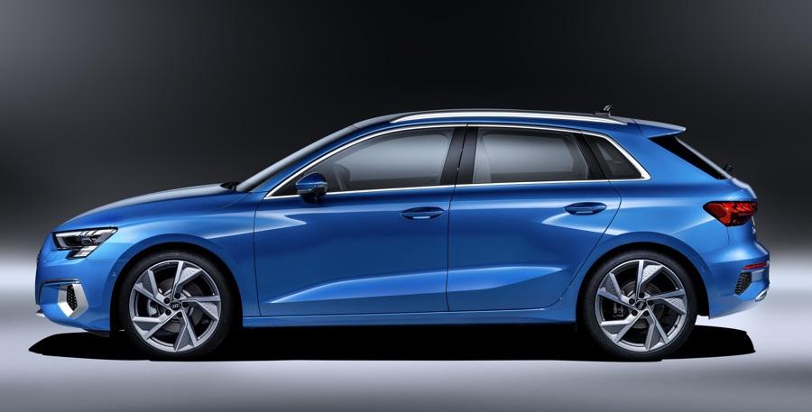 Dimensioni di Nuova Audi A3 2020