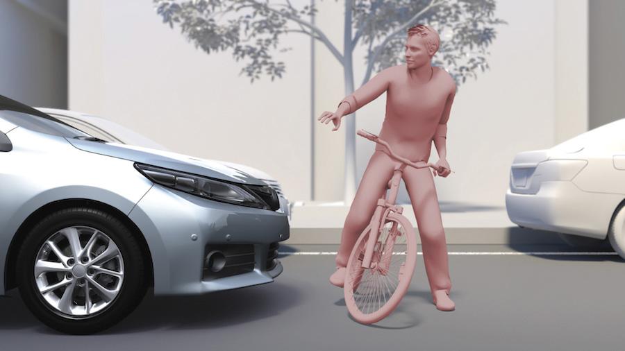 Frenata d'emergenza Adas Toyota
