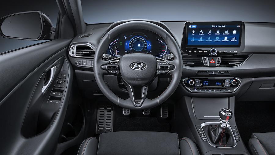 Infotainment di Hyundai i30 restyling 2020